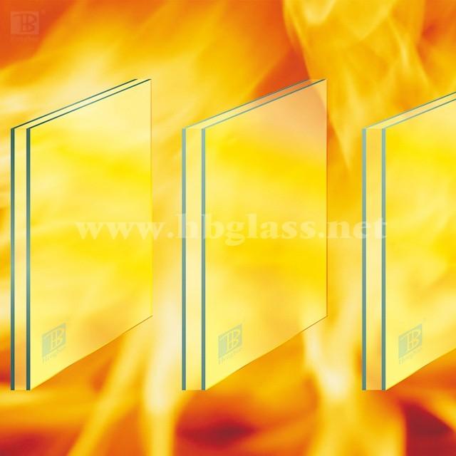 复合灌浆隔热型防火玻璃