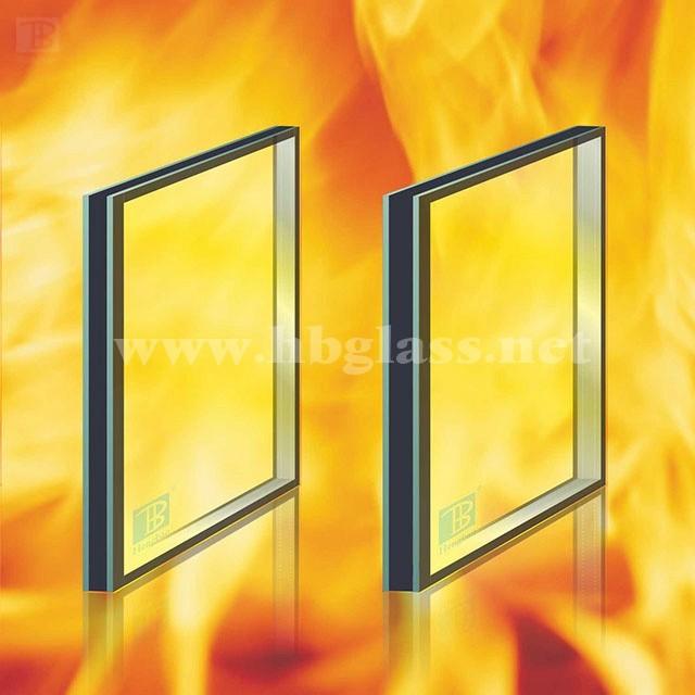 高品质非隔热型防火玻璃