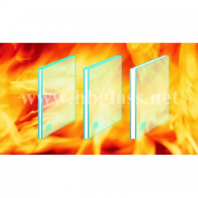 British standard BS476 double layer fire resistant glass