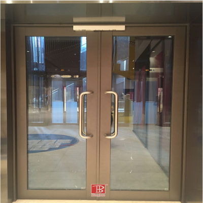 Fire-proof glass door manufacturer talking about fire-proof glass door
