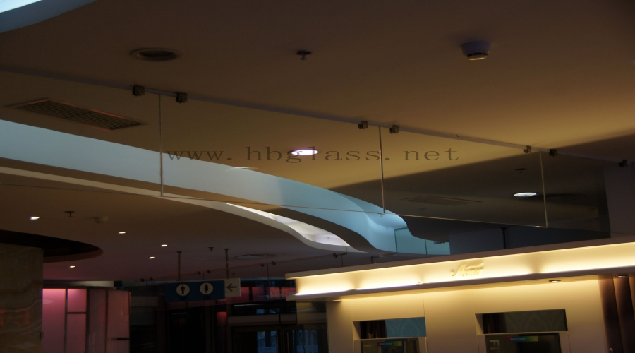 Smoke-proof Vertical Wall Works of Malls