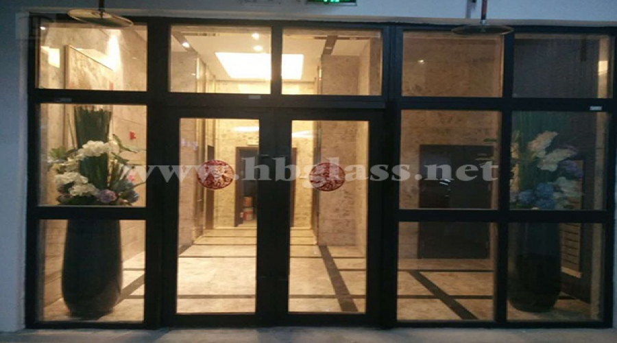 Fire-proof doors and windows of Nanning Guobin Building