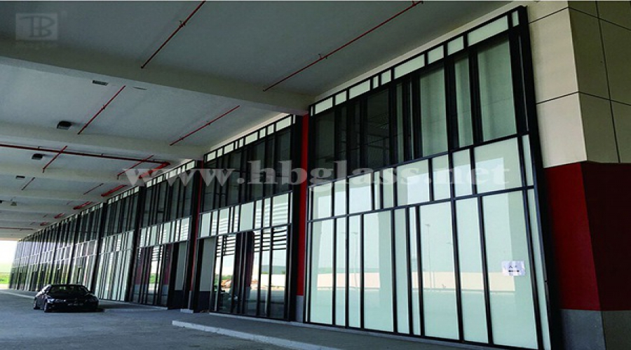 Macau Engineering Curtain Wall Glass Engineering Pictures